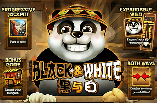 Black and White Slot Game