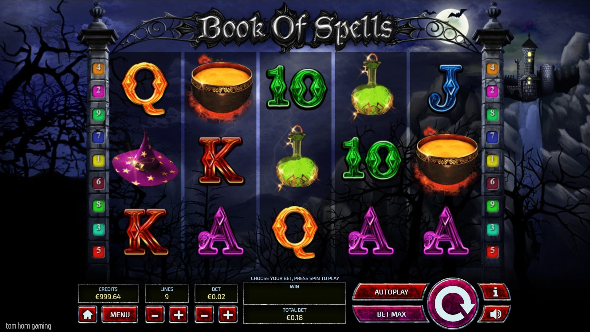 book of spells gameplay 2