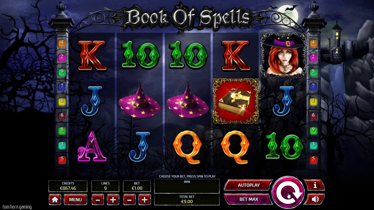 book of spells slots gameplay
