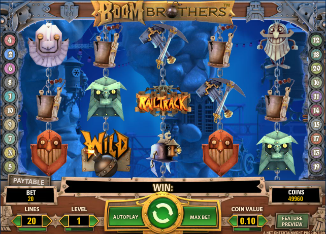 Boom Brothers Gameplay