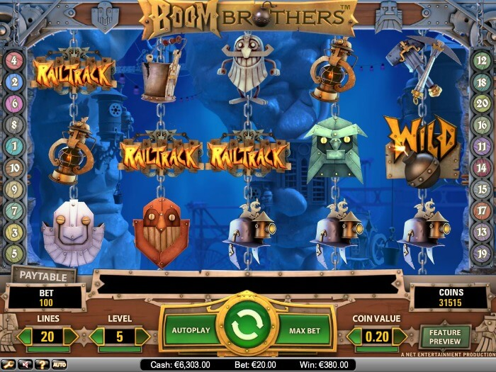 Boom Brothers Screenshot