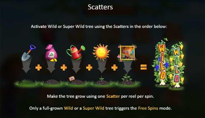 bumper crop scatters