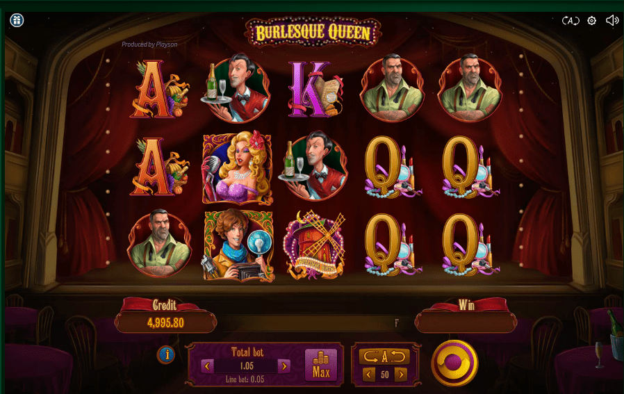 Burlesque queen gameplay