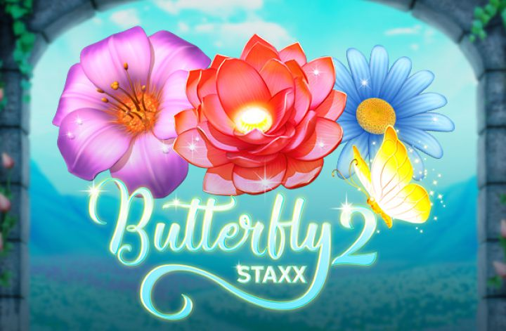 Butterly Staxx 2 logo slot