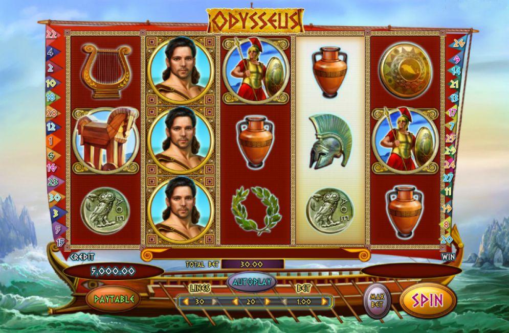 odysseus slot gameplay