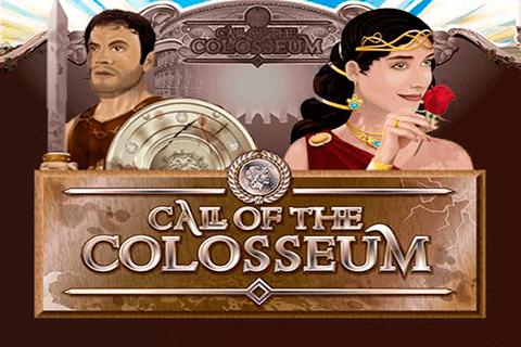 Call of the Colosseum logo