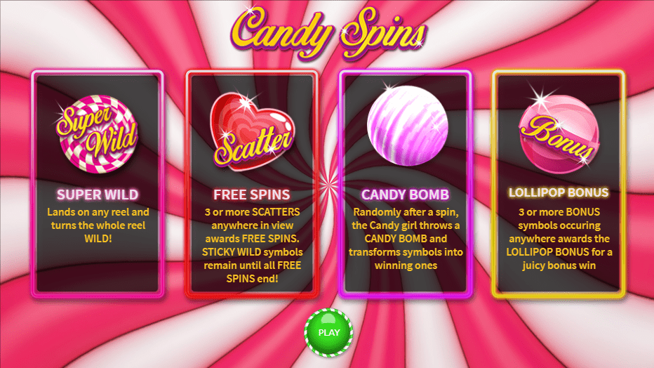 Candy Spins Logo