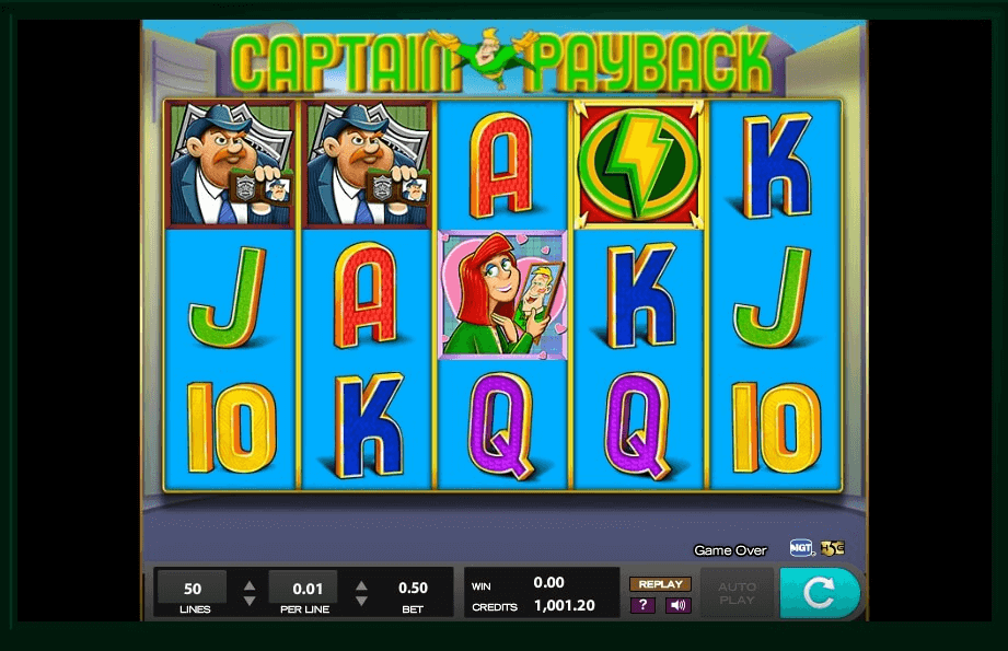 Captain Payback slot Game Play Image