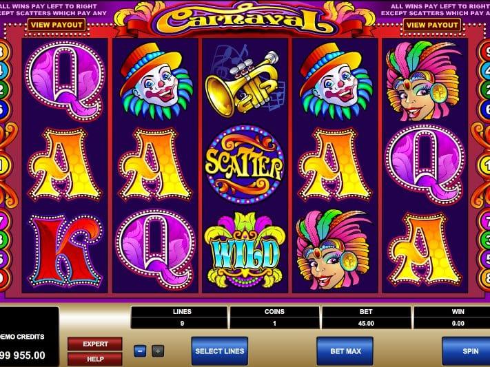 Carnaval Gameplay