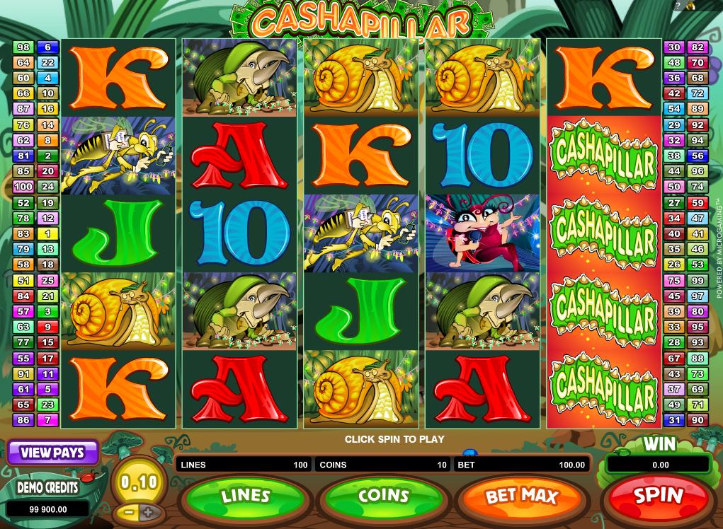 cashapillar gameplay