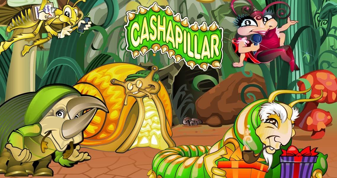 cashapillar slots game logo