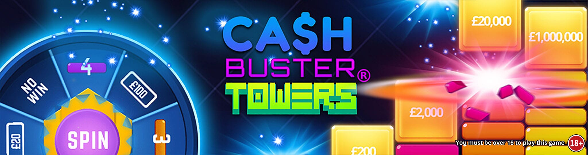 Cash Buster Tower Logo