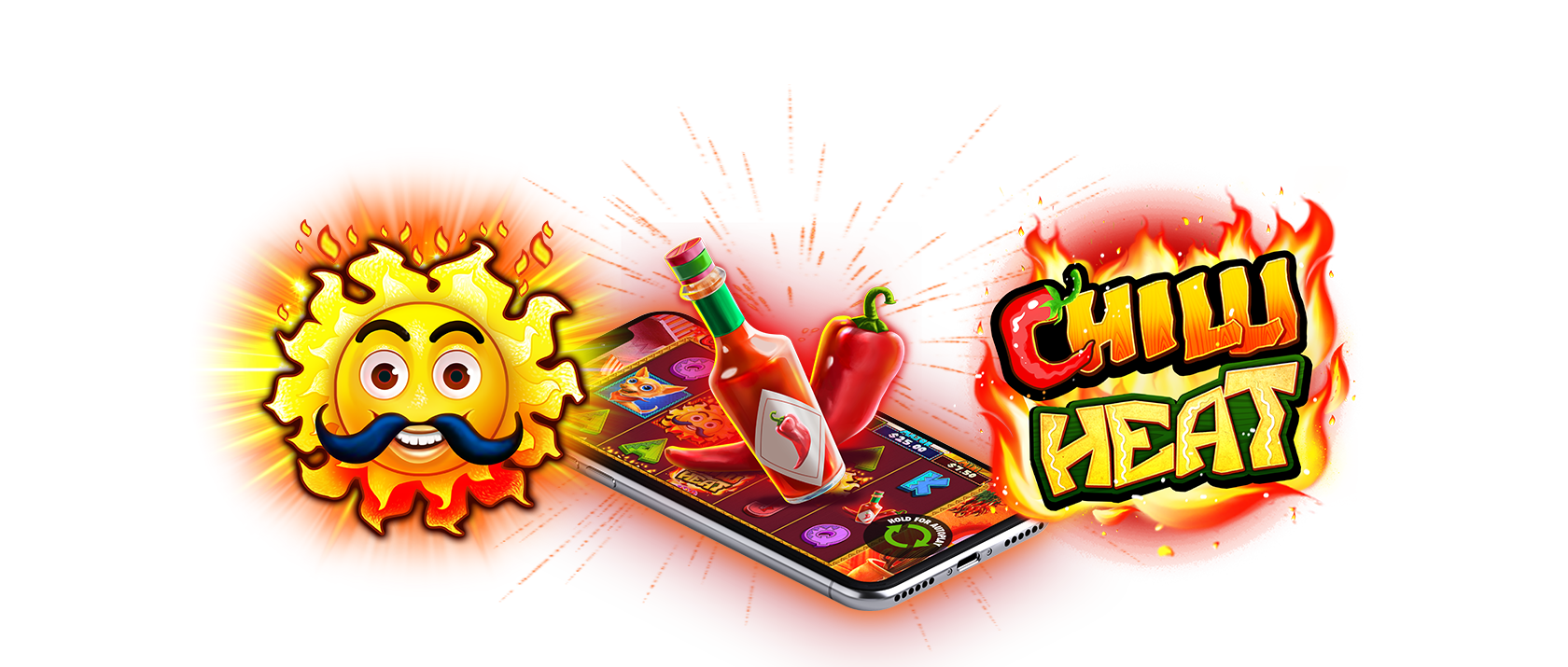 chilli heat slots game logo