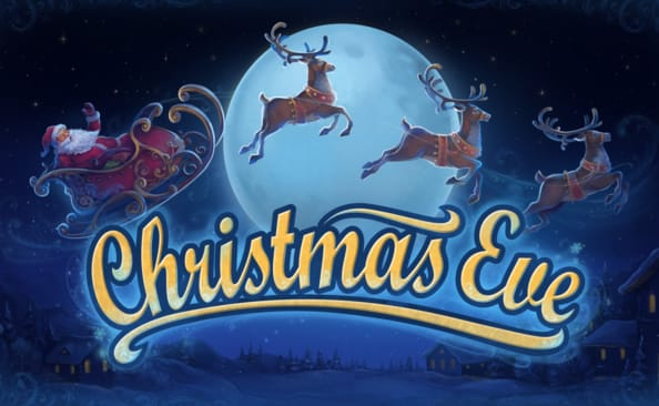 Christmas Eve Slots Game logo