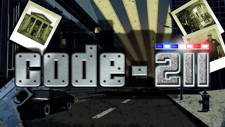 code 211 slots game logo