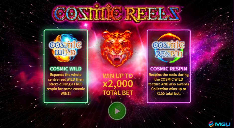 Cosmic Reels Logo