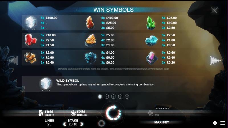 Crystal Rift Symbols
