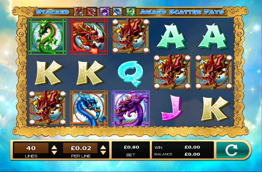 Dazzling Dragons Gameplay