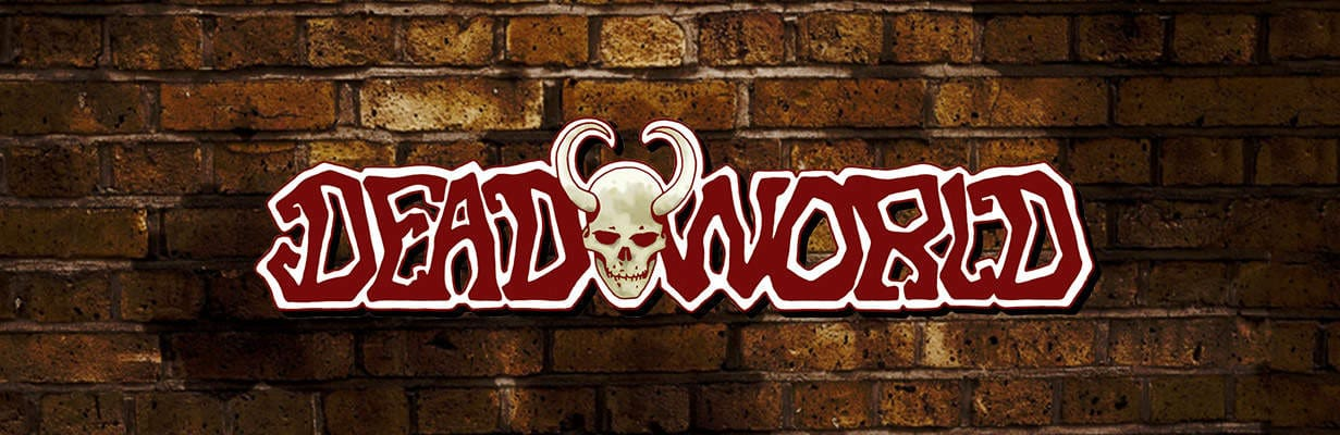 Deadworld Slot Game Logo