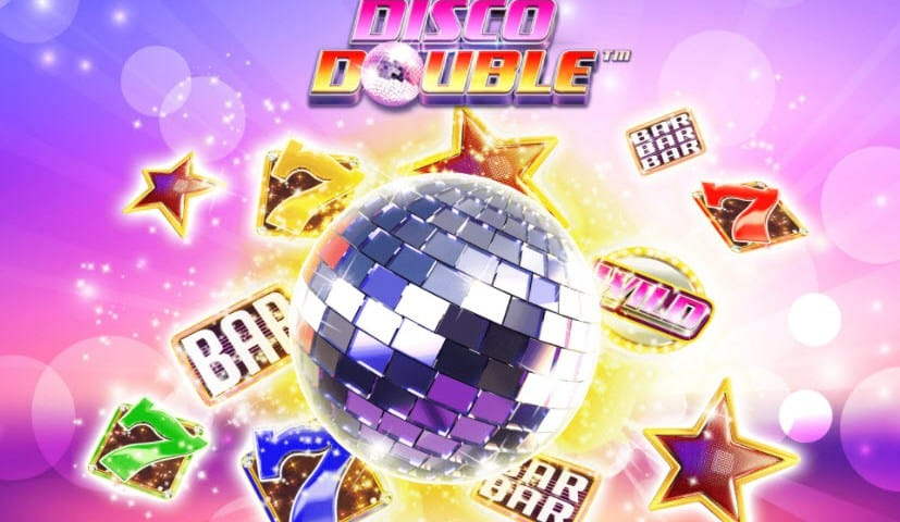 Disco Double Slot Game Logo
