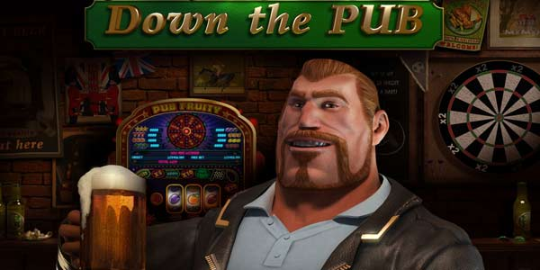 Down the Pub Slots game logo