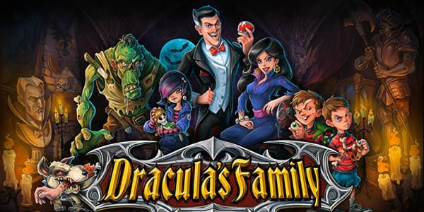 Dracula's Family slots game logo