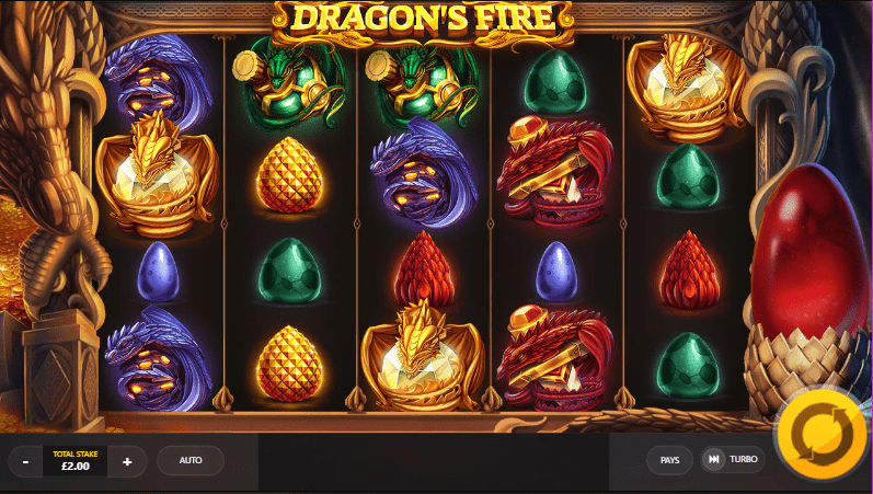Dragons Fire Gameplay