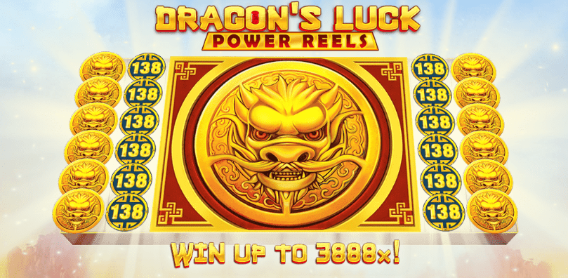 Dragons Luck Power Reels Logo