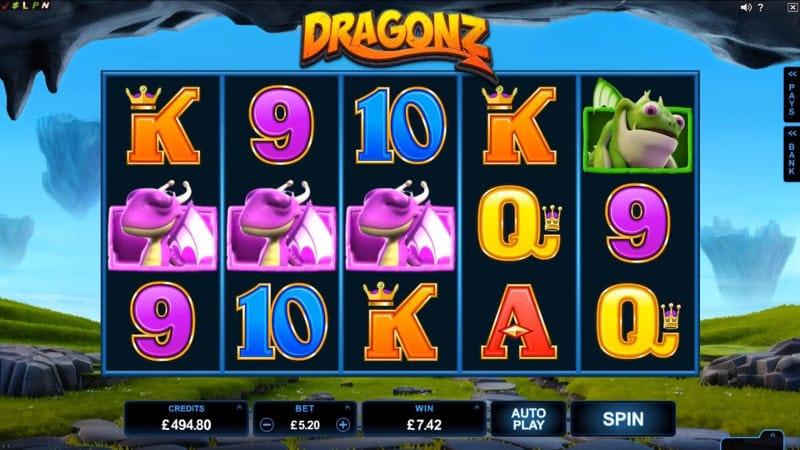 Dragonz Gameplay