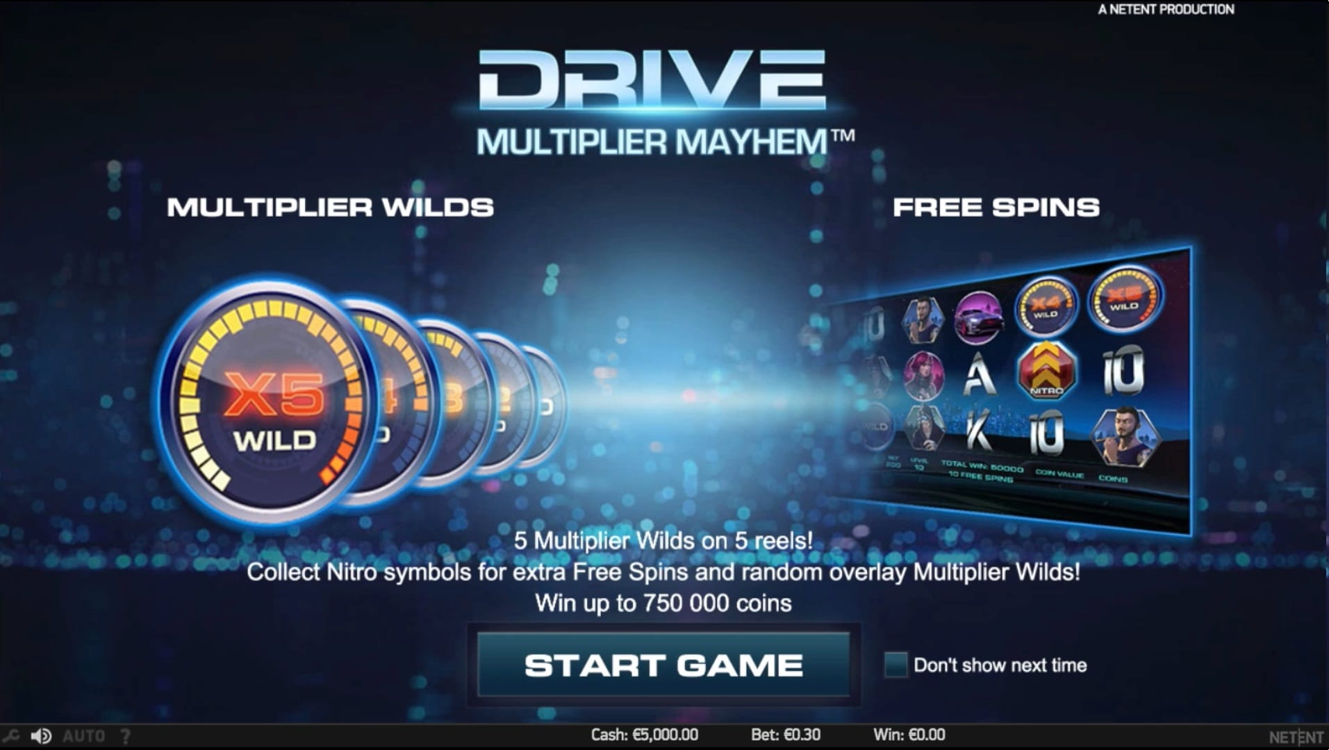 Drive: Multiplayer Mayhem Slots Game wilds