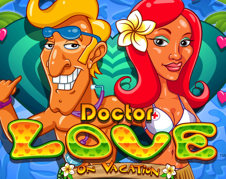 Dr Love Vacation Slots Game logo