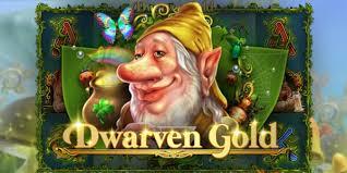 dwarven gold deluxe slots game logo