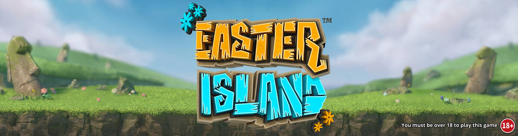 easter island slots game logo