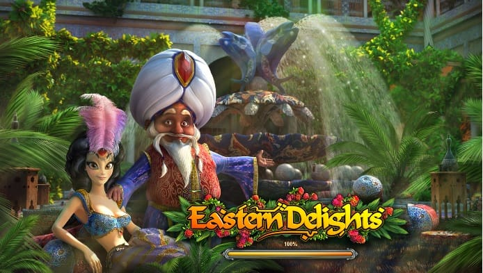 Eastern Delight Slots Game logo