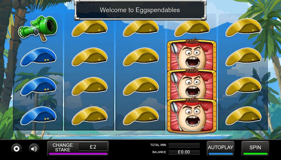 Eggspendables Gameplay