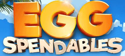 Eggspendables Logo