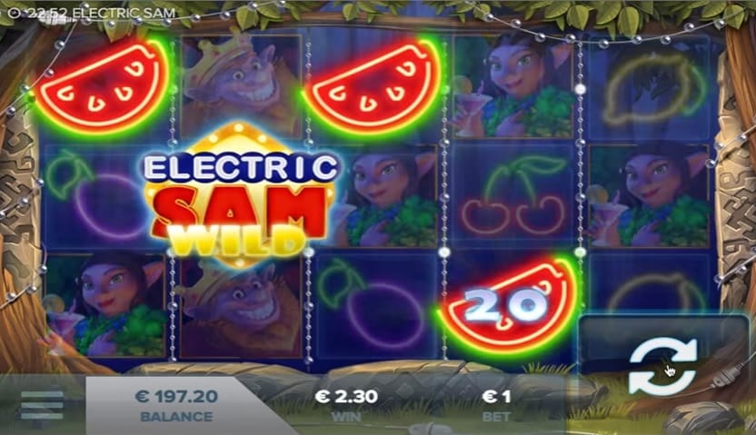 Electric Sam gameplay 2