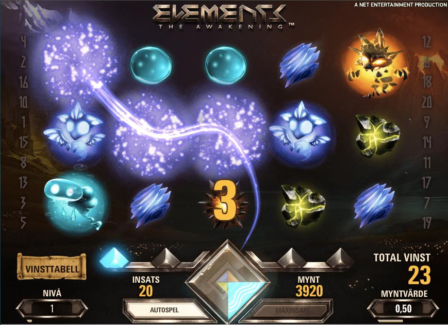 Elements win