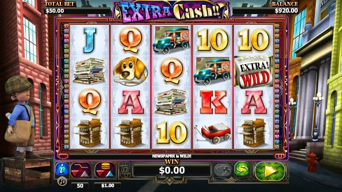Extra Cash Online Slot Game Gameplay