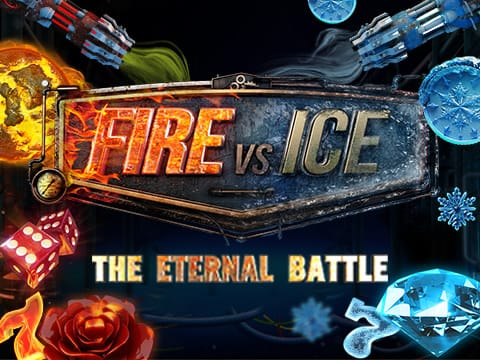 fire vs ice logo