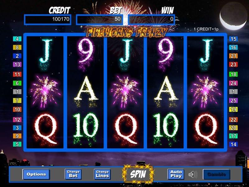Firework Frenzy Slots Game gameplay