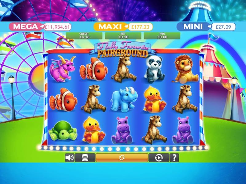 Fluffy Favourites Fairground Jackpot gameplay