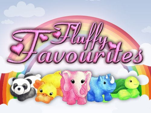 Fluffy Favourites bonus slots game logo