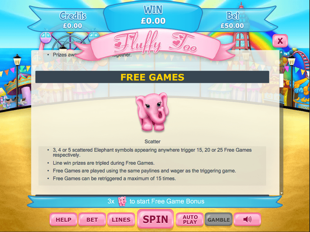 Fluffy Too Free games