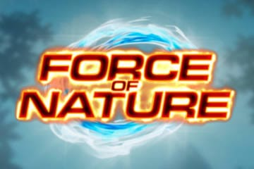 Force of Nature Slot Game Logo