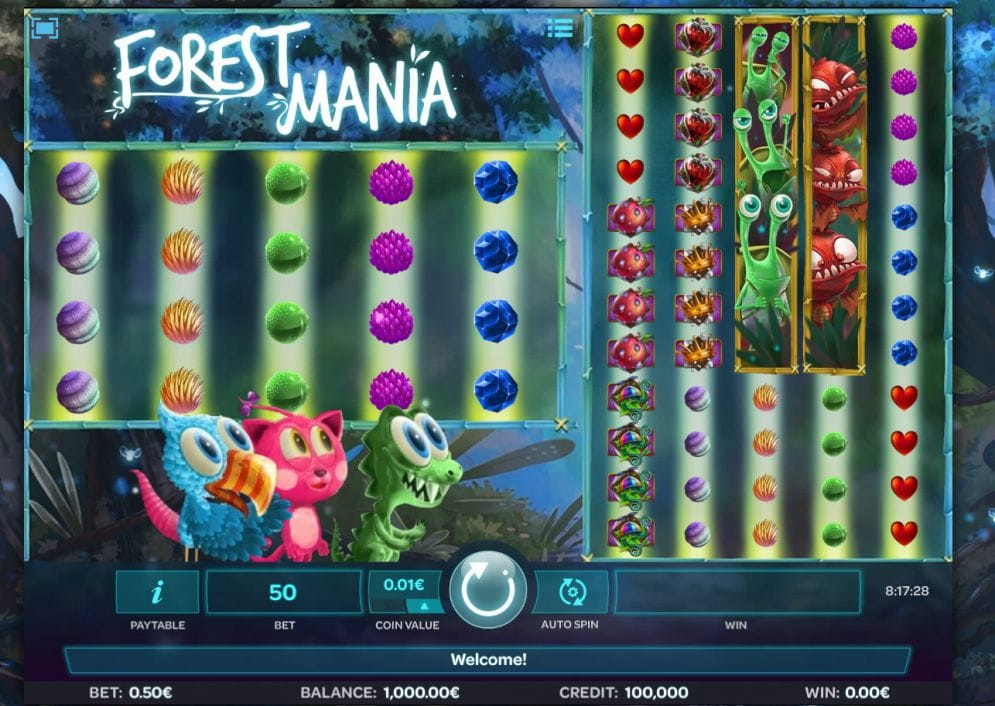 Forest Mania Slot Game Gameplay