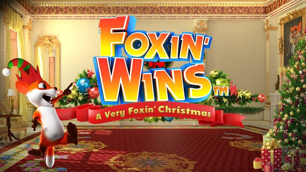 Foxin' Wins Christmas Logo