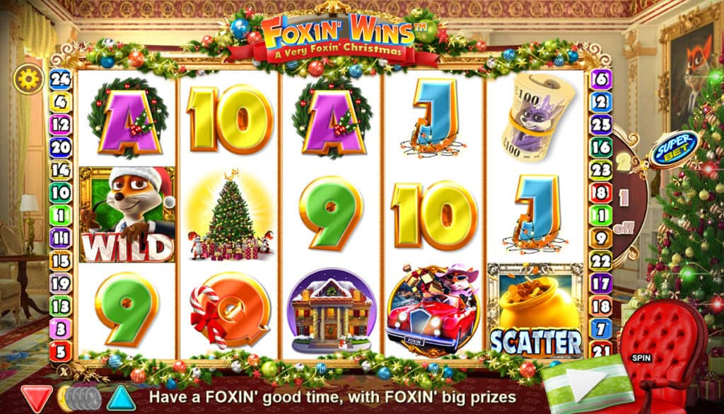Foxin' Wins Christmas Screenshot