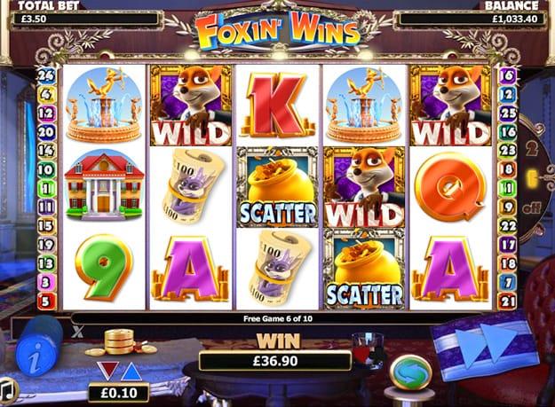 Foxin Wins Gameplay