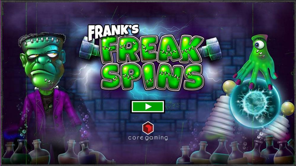Franks Freak Spins Logo
